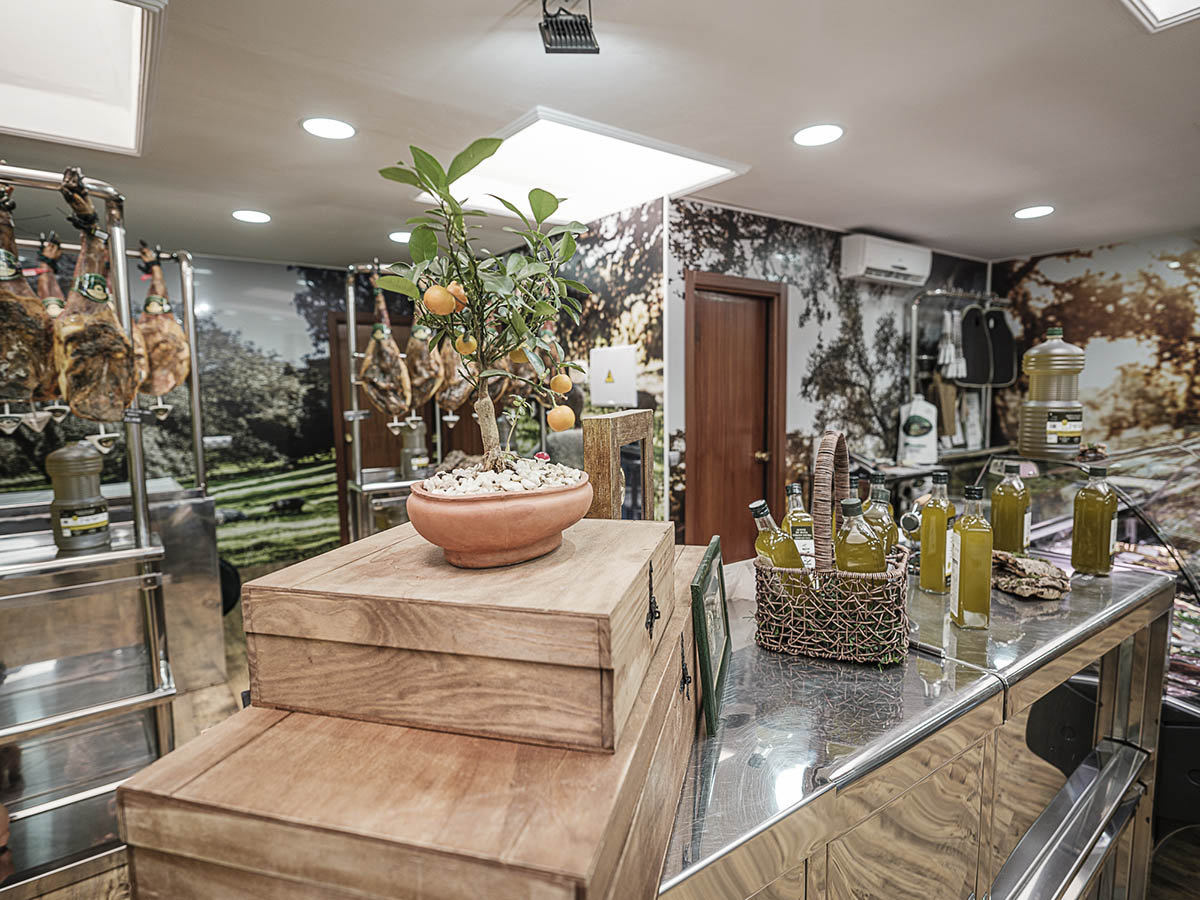 tienda de productos ibéricos de los romeros de alanis