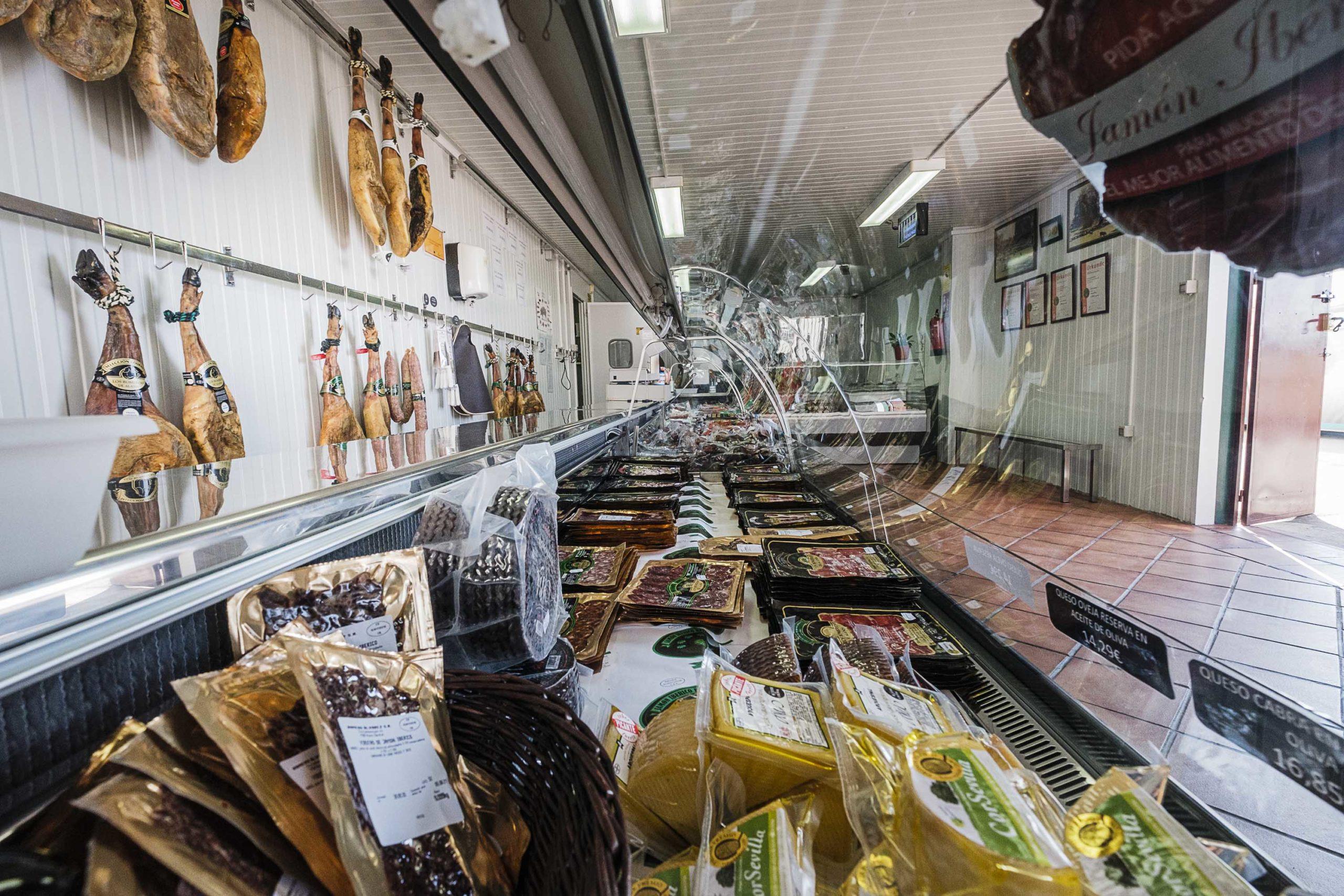 tienda de productos ibéricos los romeros de alanis